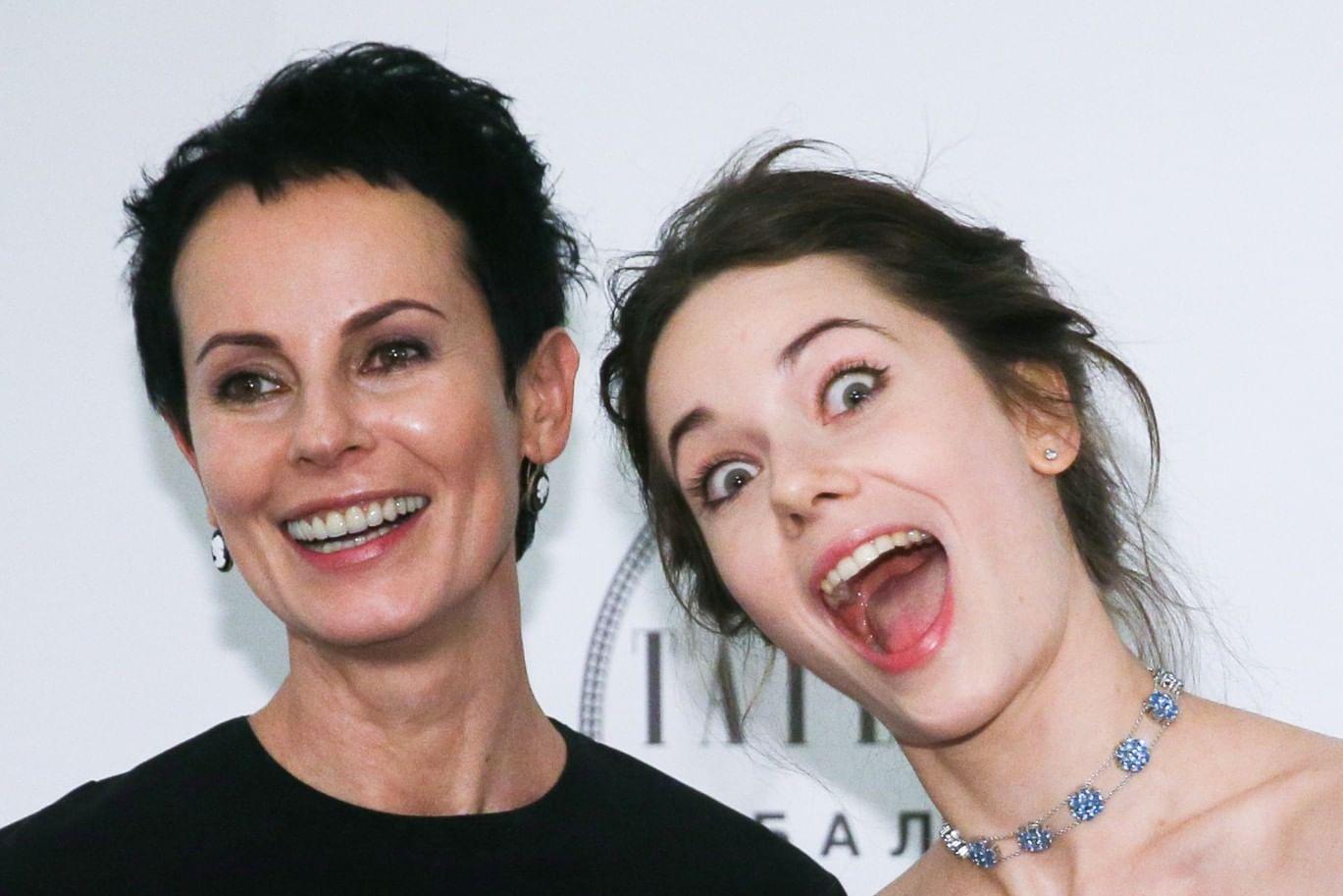 апексимова с дочерью