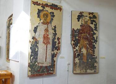 Выставка «Возрожденные из руин. Церковь Спаса Преображения на Ковалеве и ее фрески»