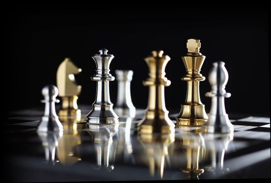 Фон для открытки шахматы