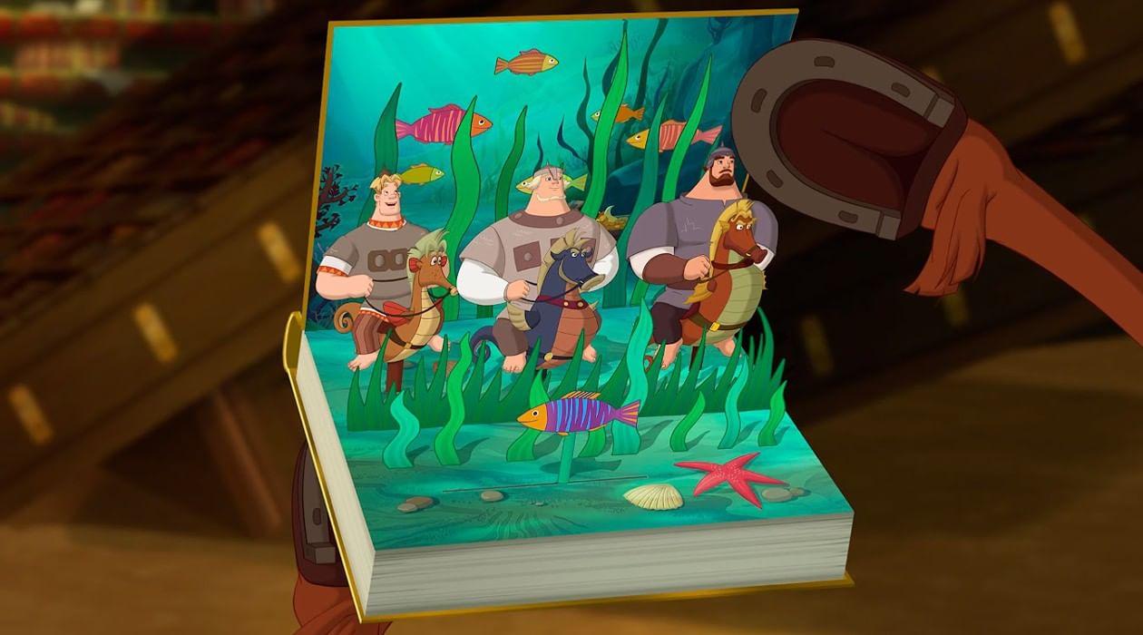 Морской царь из трех богатырей картинки