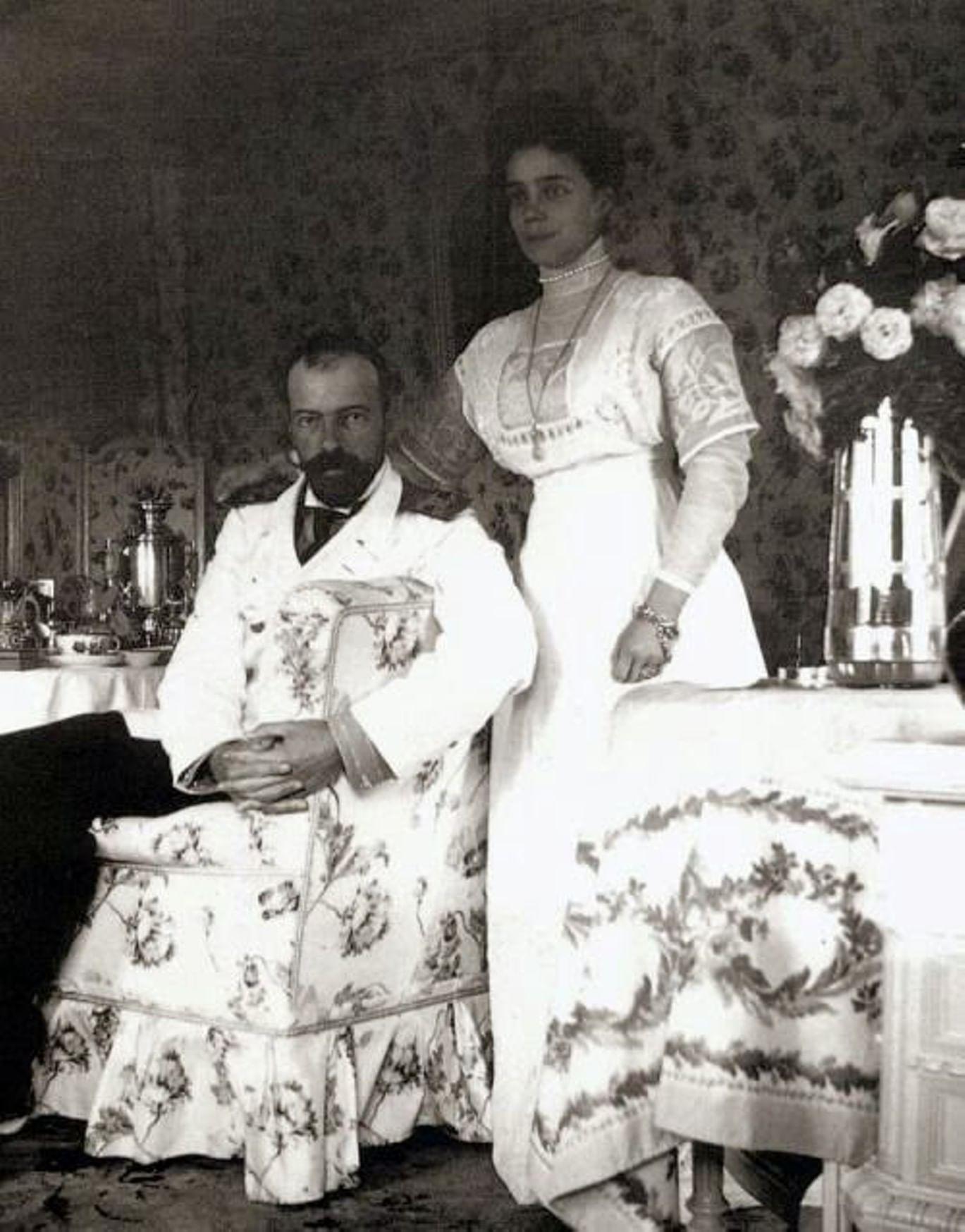 Великий князь Александр Михайлович и княгиня Ксения Александровна. Фотография: sakvoiazh.ru