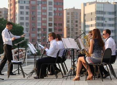 Концерт «Многоцветие эстрады и джаза»