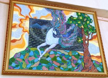 Выставка работ Натальи Морозовой