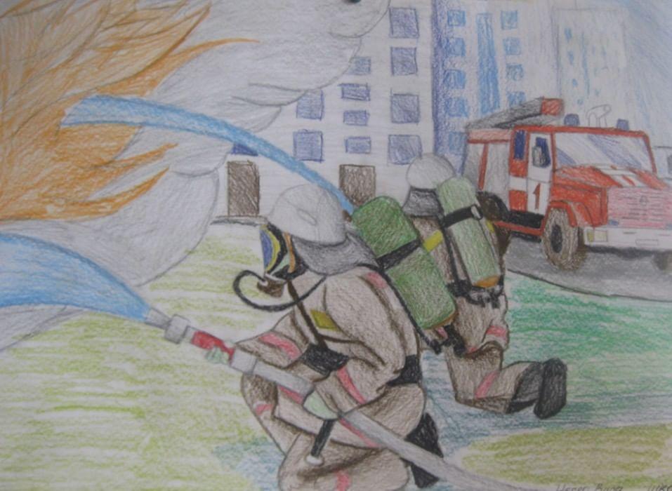 картинки ко дню пожарной охраны нарисовать второго блюда обходится