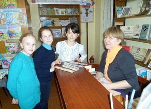 Столбовская сельская библиотека-филиал им. Е. Д. Петряева