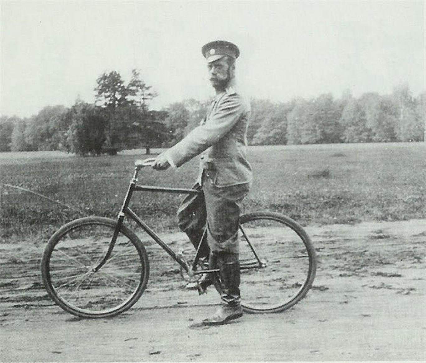 Летние развлечения Николая II - Велосипеды