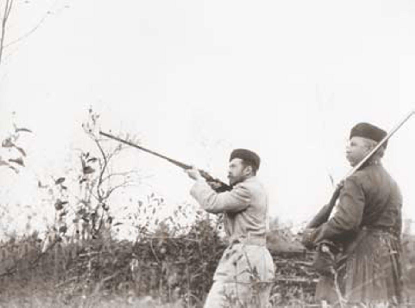 Летние развлечения Николая II - Охота