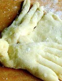 Весеннее обрядовое печенье Гороховецкого района Владимирской области