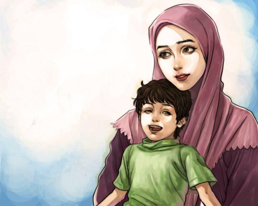 Картинки для мама мусульманские