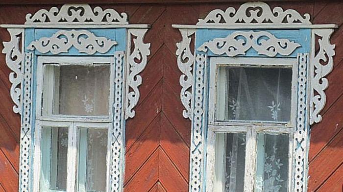 Традиционная домовая резьба по дереву в Спировском районе Тверской области