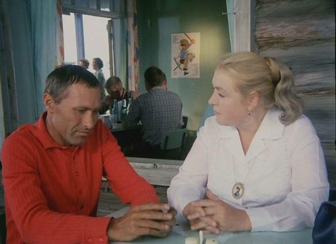 Кадр из фильма «Калина красная».
