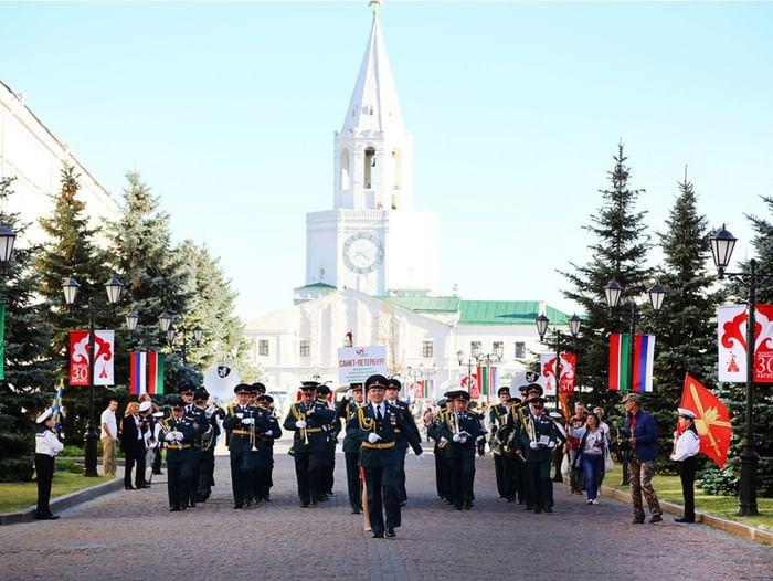 VI Международный фестиваль духовых оркестров «Фанфары Казани»