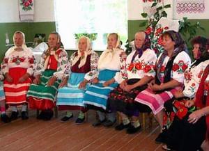 Весенние карагоды в селе Павличи Клинцовского района Брянской области