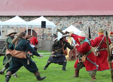 Военно-исторический фестиваль «Карельские рубежи»