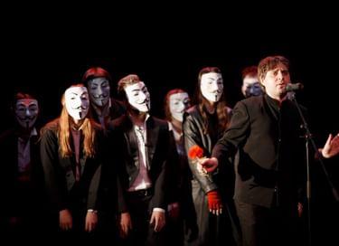 Спектакль «Площадь революции.17»
