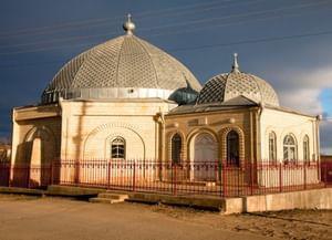 Мечеть селения Юхари-Стал в Дагестане