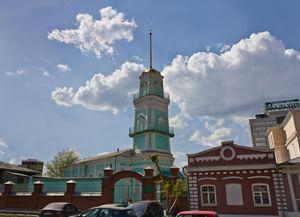 Соборная мечеть «Ак-мечеть» в Челябинске