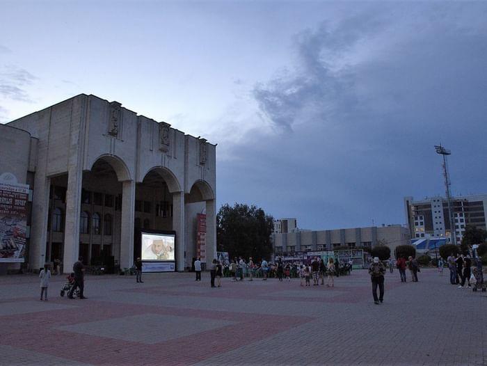 Ночь кино в Курском драматическом театре им. А. С. Пушкина