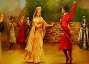 Западно-адыгский народный танец «Исламей»