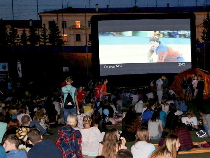 Ночь кино в Кузбассе