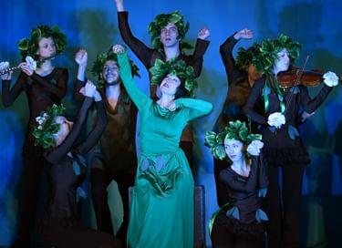 Спектакль «Щедрое дерево»