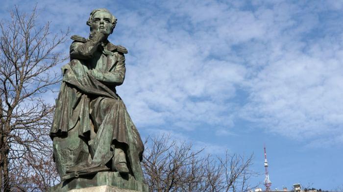 Памятник М.Ю. Лермонтову в Пятигорске