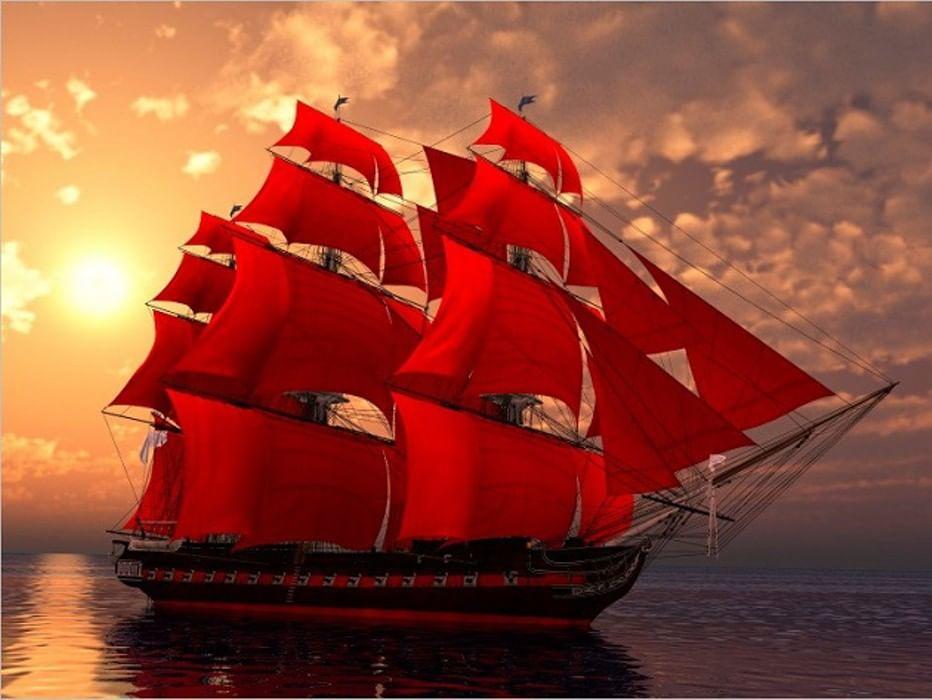 Кораблик любви картинки