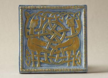 Мастер-класс «Роспись древнерусского рельефа «Сирины»