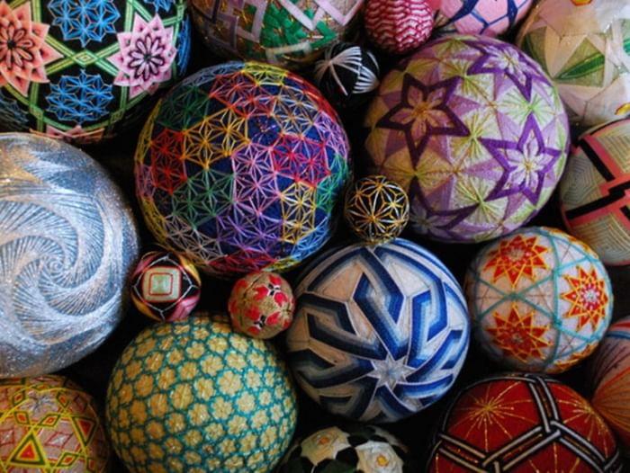 Мастер-класс «Искусство создания японских шаров тэмари»