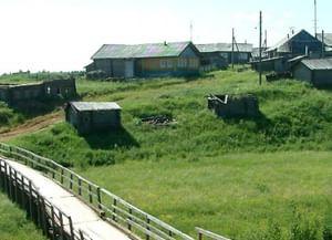 Традиционные собрания молодежи в д. Кеба Лешуконского района Архангельской области