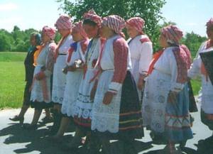 Обряд похорон Стрелы в Новозыбковском районе Брянской области