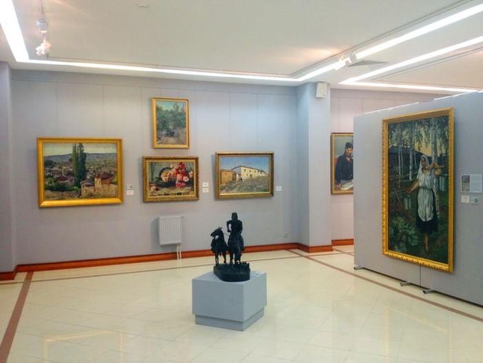 Постоянная экспозиция «Отечественное изобразительное искусство ХХ–XXI вв.»