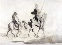 Дон Кихот в гравюре. За Гюставом Доре