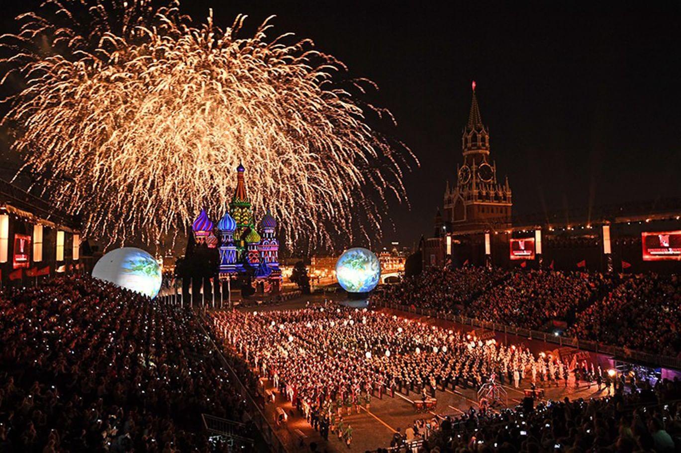 Фестиваль «Спасская башня» соберет в Москве 40 мировых оркестров