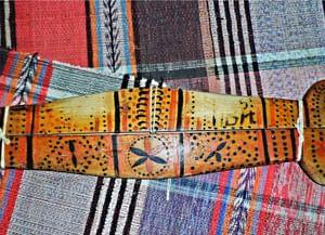 Традиционные технологии росписи по дереву у коми старообрядцев Удорского района Республики Коми