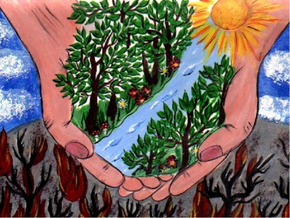 Вечер картинки, экологические открытки конкурс