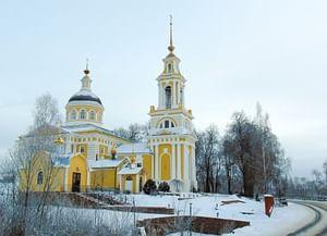 Святочные гадания в поселке Приволжский Кимрского района Тверской области