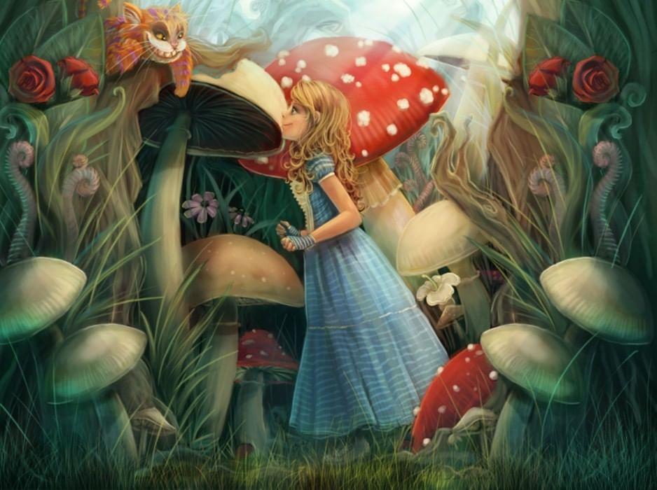 Алиса сказочные картинки