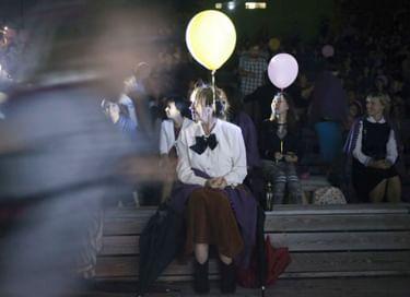Ночь кино в краснояружском парке Победы