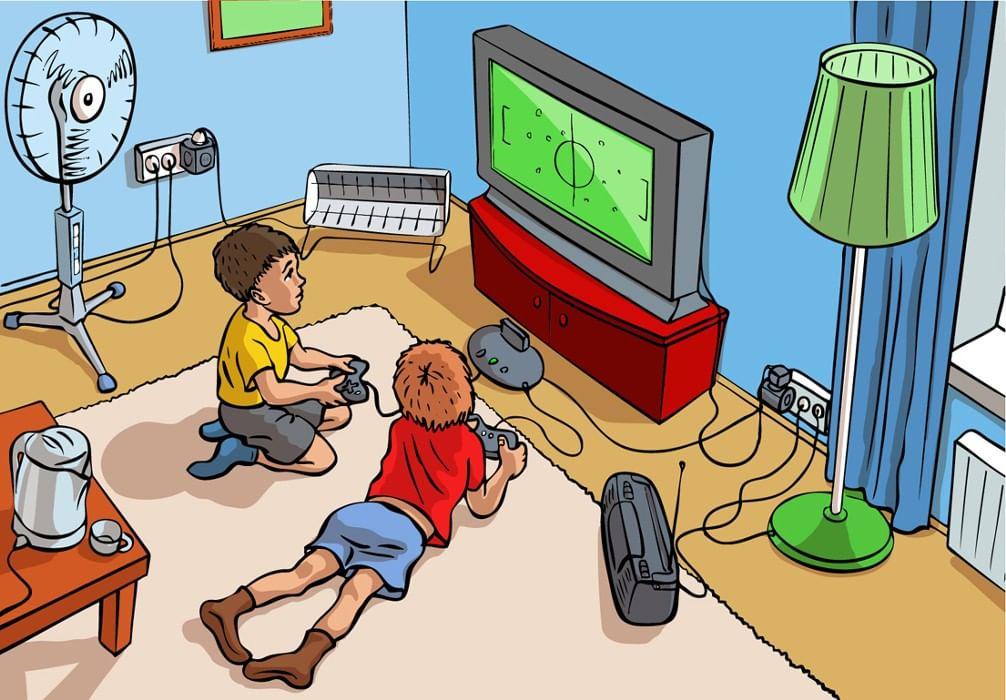 Электричество в картинках для детей, собакой поздравляю