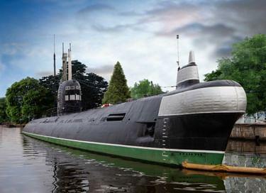 Экспозиция «Из истории подводного флота России» на подводной лодке Б-413