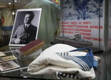 Выставка «Легендарный флотоводец»