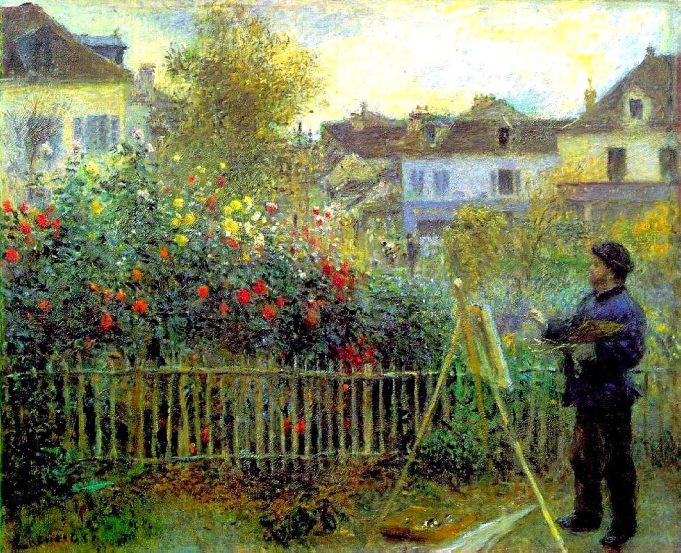 картины сад