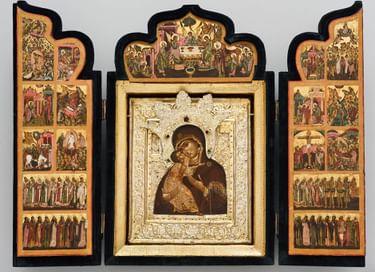 Выставка «Покровители мореплавателей, небесные и земные»