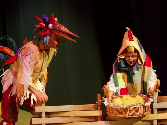 Спектакль «Сказка о храбром Петере и Куриной фее»