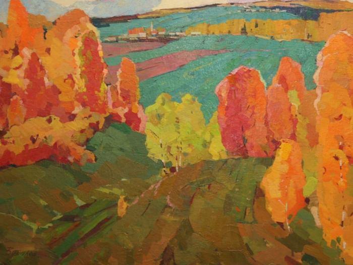 Выставка Георгия Вопилова «С любовью к Родине»