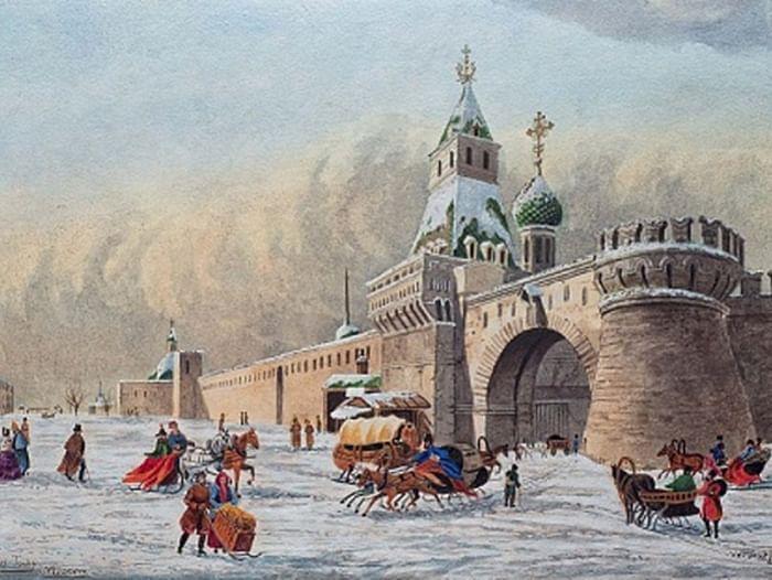 Выставка «Виды Москвы»