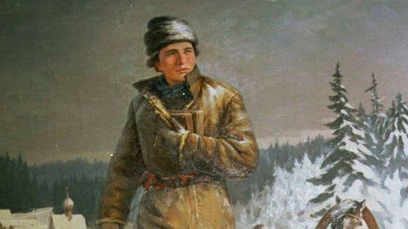 Из Холмогор в Москву: дорога Ломоносова