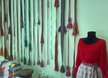 Выставка «Тканные пояса. Тверские мотивы»