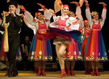 Концерт театра танца «Казаки России» ко Дню учителя